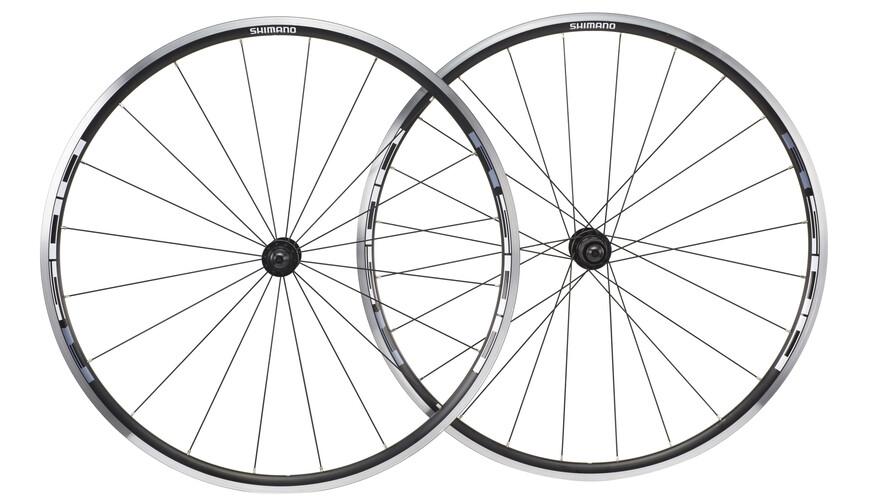 Shimano WH-R501 Hjulsæt 8/9/10-speed sort/grå